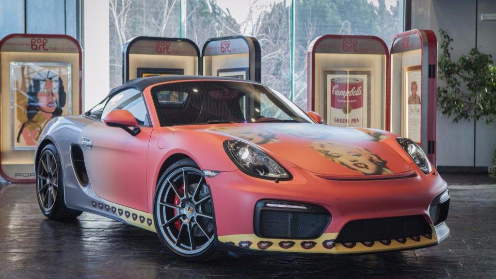 Genial exposición sobre Andy Warhol en Porsche