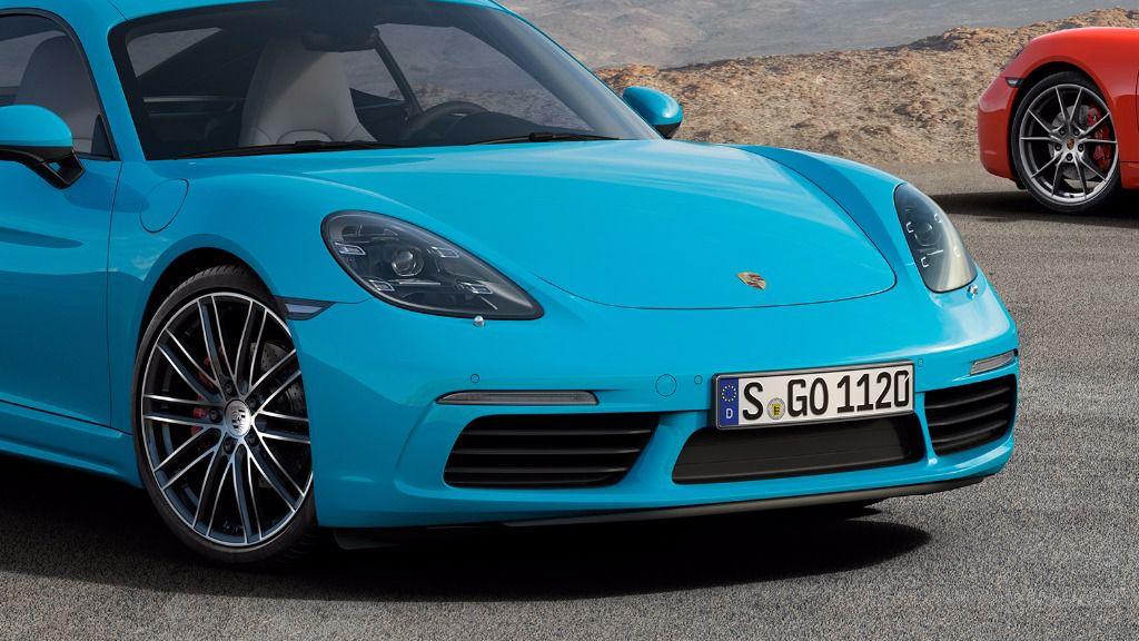 Llega el Porsche 718 Cayman, un deportivo con motor central