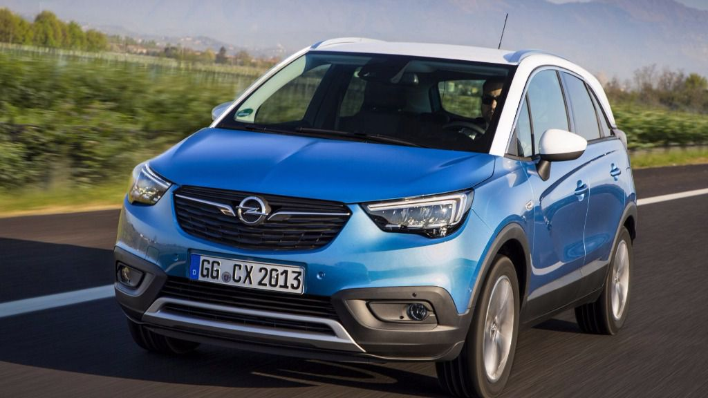 opel crossland x un suv elegante y funcional. Black Bedroom Furniture Sets. Home Design Ideas