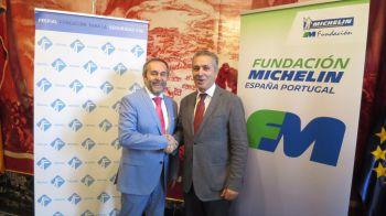 Michelin y FESVIAL renuevan su compromiso contra los accidentes