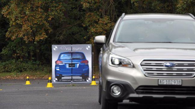 Subaru mejora sus instalaciones de pruebas para mejorar en seguridad