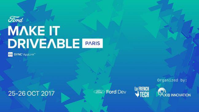 Ford ofrece 30.000 € y colaboración a las start-ups en el evento Make it Driveable AppLink