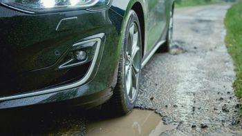 Innovador sistema de detección de baches para el nuevo Ford Focus