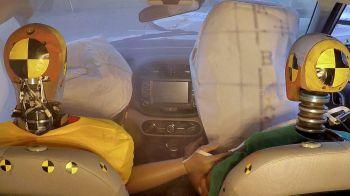 Primer sistema de Airbag de colisión múltiple presentado por Hyundai